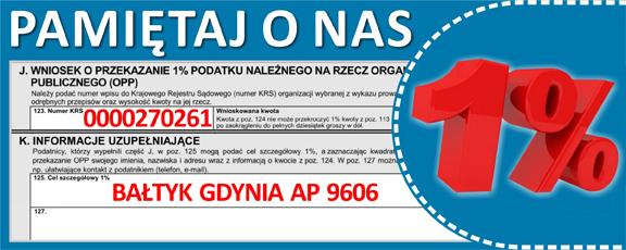 1% dla Bałtyku